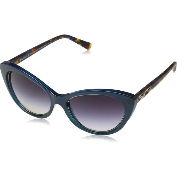 Michael Kors Teal Cat Eye Retro Sunglasses